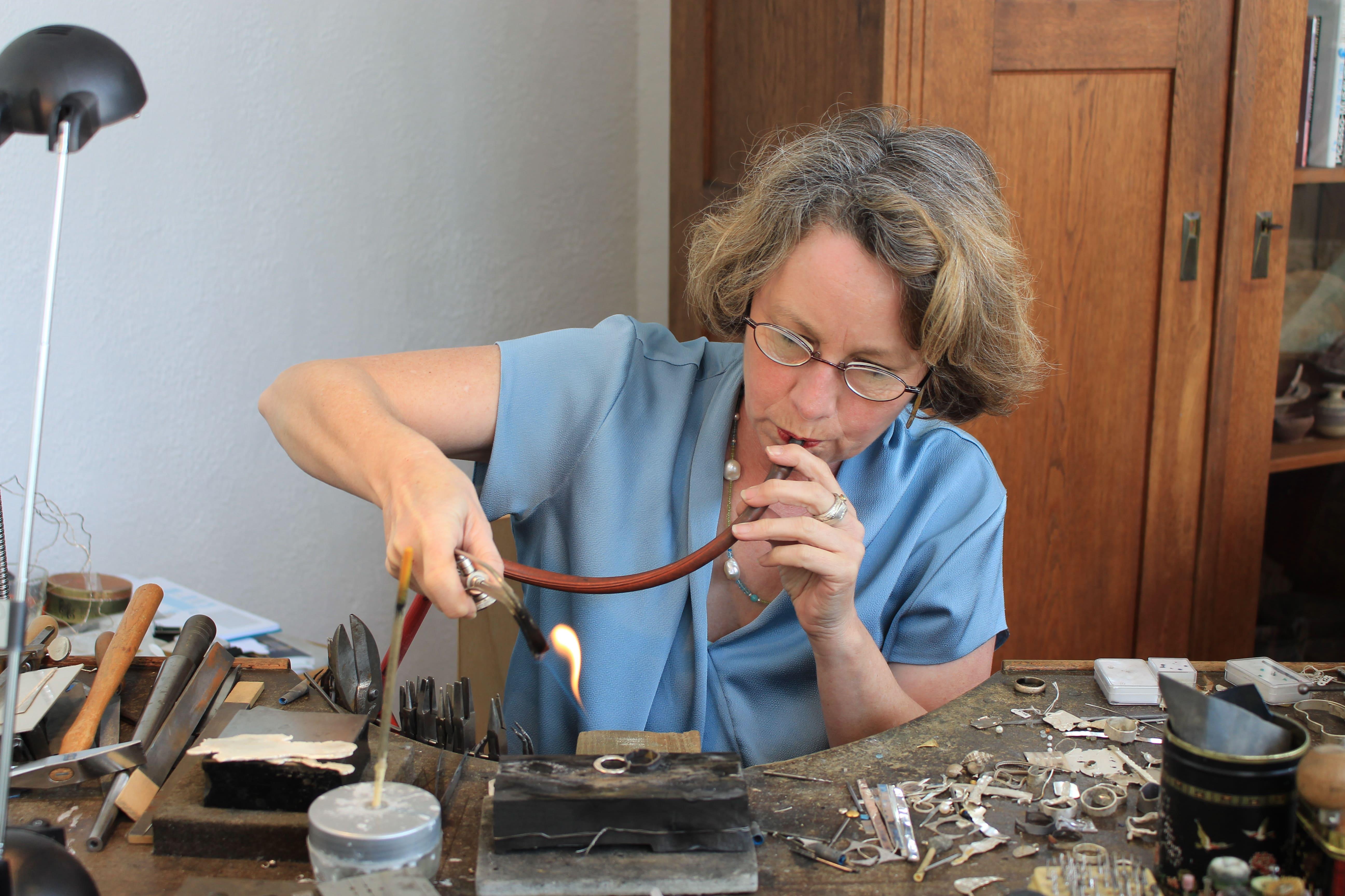Jutta Behr-Schaeidt maître joaillière