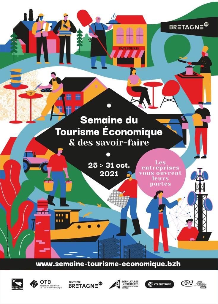 La 1ère édition de la Semaine du Tourisme économique et des savoir-faire de Bretagne
