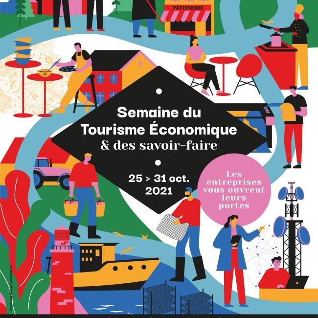 Affiche semaine du tourisme économique et de savoir-faire