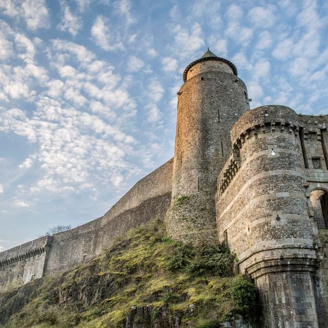 Fougeres chateau poterne Lionel Le Saux 1