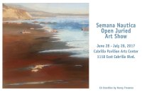 Semana Nautica Art Show (June 28 – July 28)