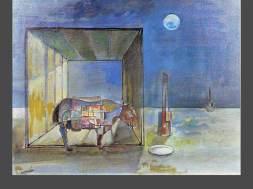 Rinoceronte con luz interior_1971_voces