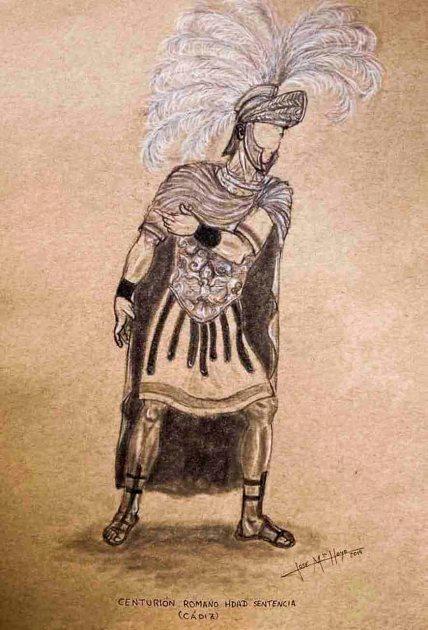 Boceto del nuevo centurión romano