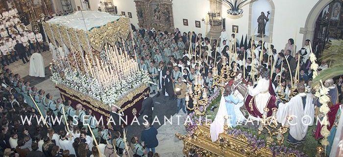 Domingo de Ramos 2016 en Jerez de los Caballeros