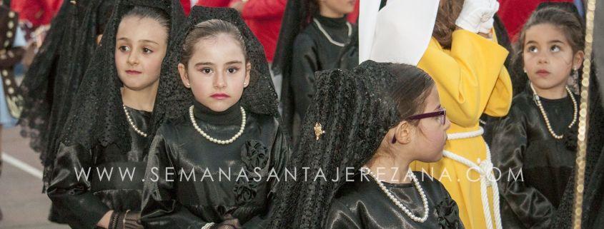procesión infantil colegio el rodeo jerez de los caballeros