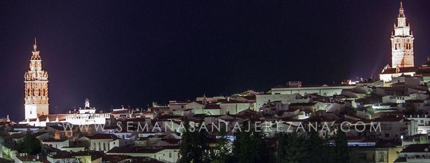 Actos previos a la Semana Santa de Jerez de los Caballeros semanasantajerezana noche