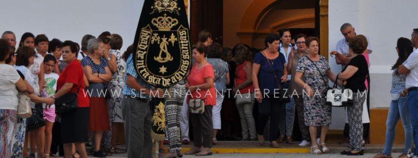 Traslado Virgen de Aguasantas patrona de Jerez de los Caballeros semanasantajerezana