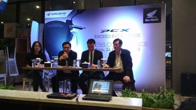 target penjualan Honda PCX 150 di Jawa Tengah