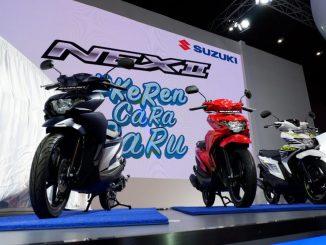 warna Suzuki NEX facelift 2018