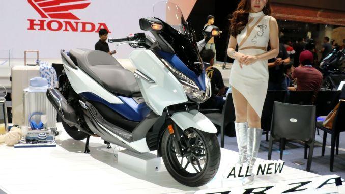 launching honda forza 250 2018