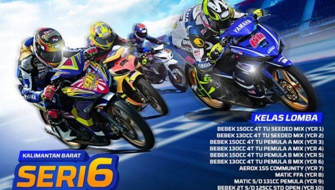 Yamaha Cup Race 2018 Pontianak seri 6 YCR