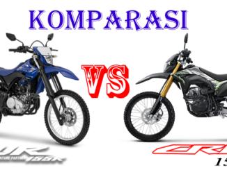 yamaha WR155 vs Honda CRF150L