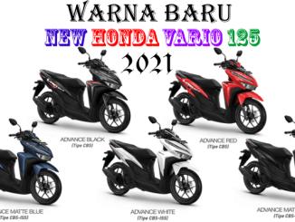 Warna Honda Vario 125 2021