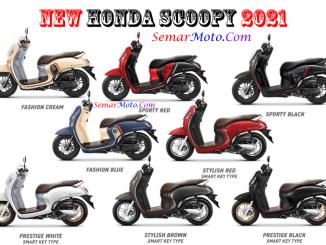 warna honda scoopy 2021 terbaru