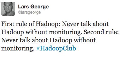 Hadoop Club Monitoring