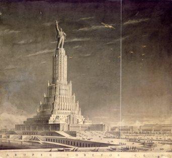 Palacio de los Soviets, Borís Iofán, Moscú
