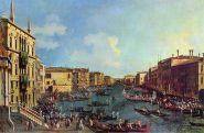 Canaletto, Regata en el Gran Canal
