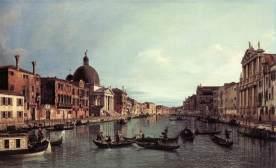 Canaletto, El gran Canal mirando hacia el suroeste