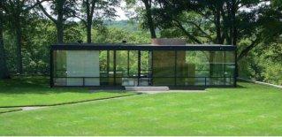 Casa de cristal, Philip Johnson
