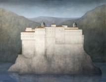 Ana Kapor, Castillo en los Pirineos (Homenaje a René Magritte