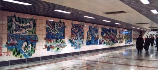 Nusret Çolpan, Metro de Estambul