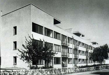 Urbanización Weissenhof, Ludwig Mies Van der Rohe