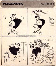 Purapinta, Historieta de Aníbal Ianiro.