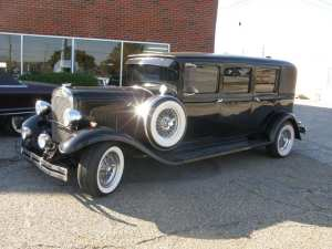 antique cars 1930 Plymouth Stretch Limo