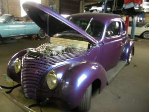 1938 FORD COUPE restoration services