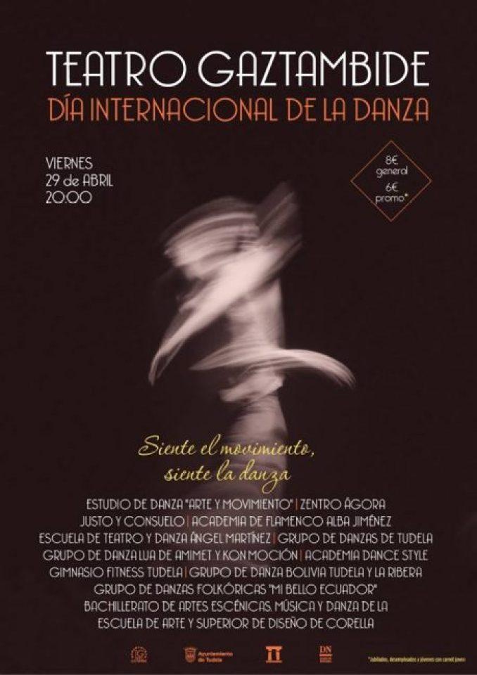 Carteil día internacional de la danza