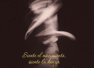 parte del cartel anunciador dia de la danza