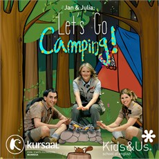 "Cartel Jan & Julia ""Let´s go Camping!"""