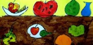 dibujo bodegón infantil