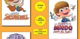 Cartel ciclo de Teatro infantil de Corella 2016