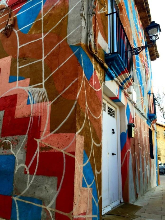 Casa colorida en la Plaza del Cofrete