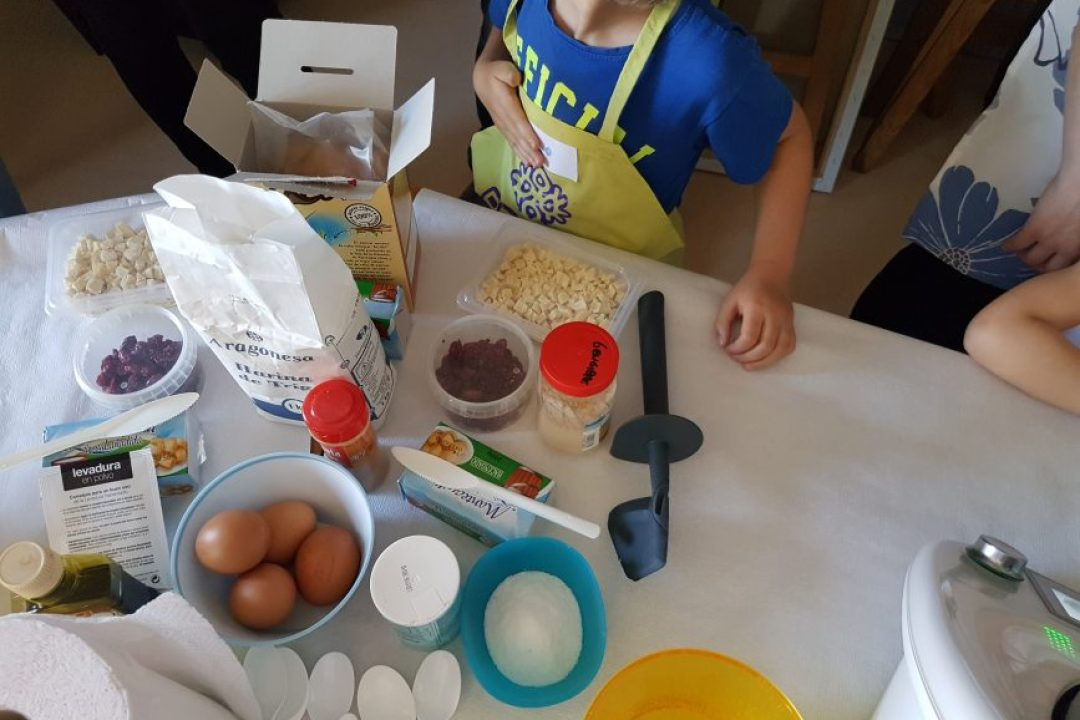 Así fue nuestro primer taller de galletas