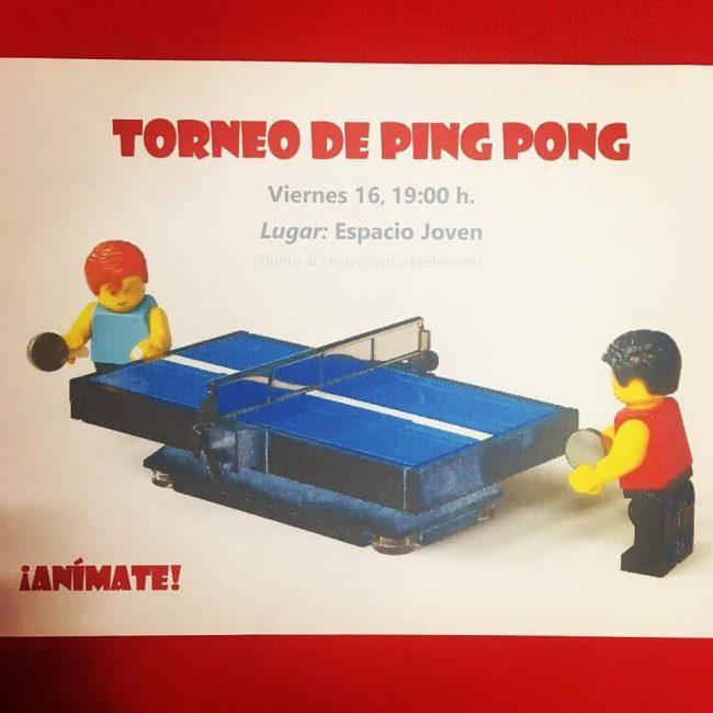 Taller de Ping Pong es Espacio Joven