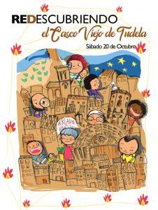 Cartel día del casco Antiguo de Tudela