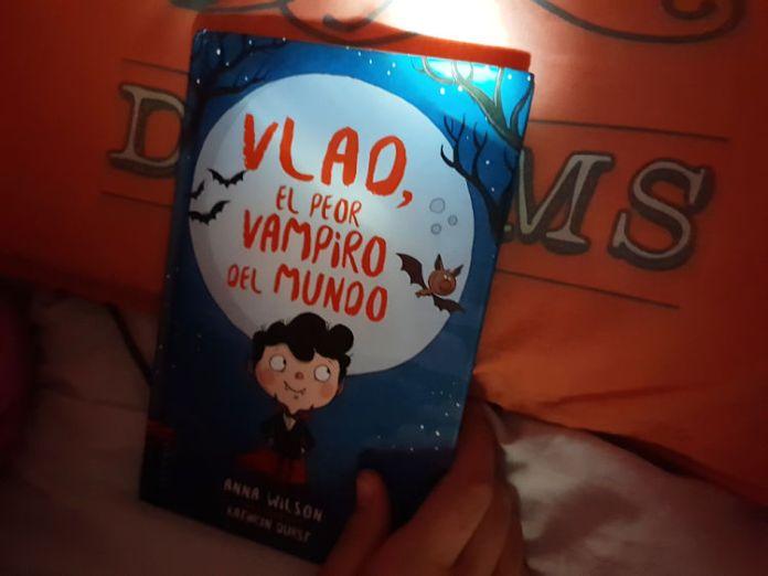 libros, halloween, vlad, edelvives