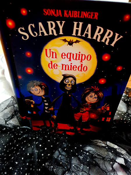 libros, niños, halloween, edelvives, scary harry