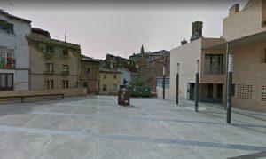 Espacio urbano en Plaza huerfanicos de Tudela