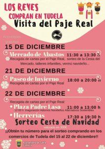 Los Reyes Magos compran en Tudela