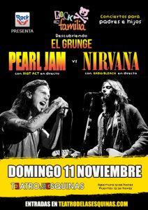 Cartel Grunge en Familia Zaragoza