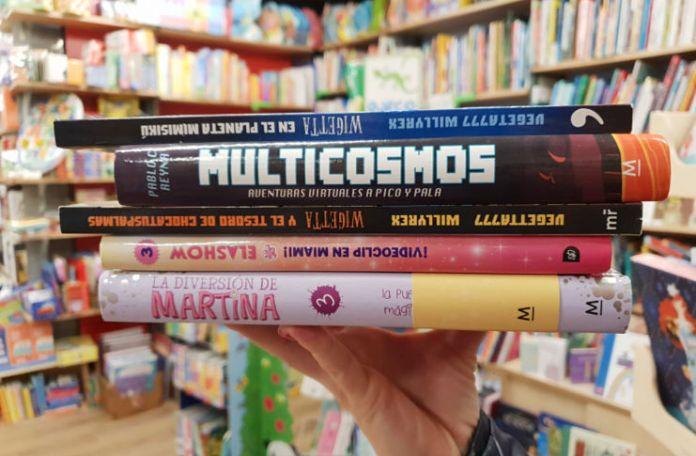 youtubers, musers, libros, niños ID