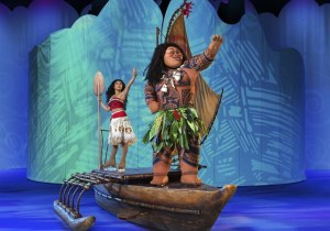 Vaiana en Disney On ice Zaragoza
