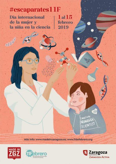 Paseos con ciencia por los escaparates de los comercios de Zaragoza