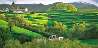 Imagen del Valle del Baztan. Fotografía tomada de la web de Turismo de Navarra por Luis Otermin