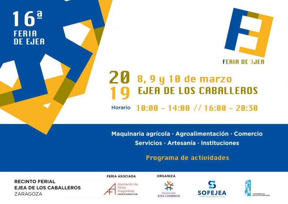 Cartel Feria de Ejea 2019