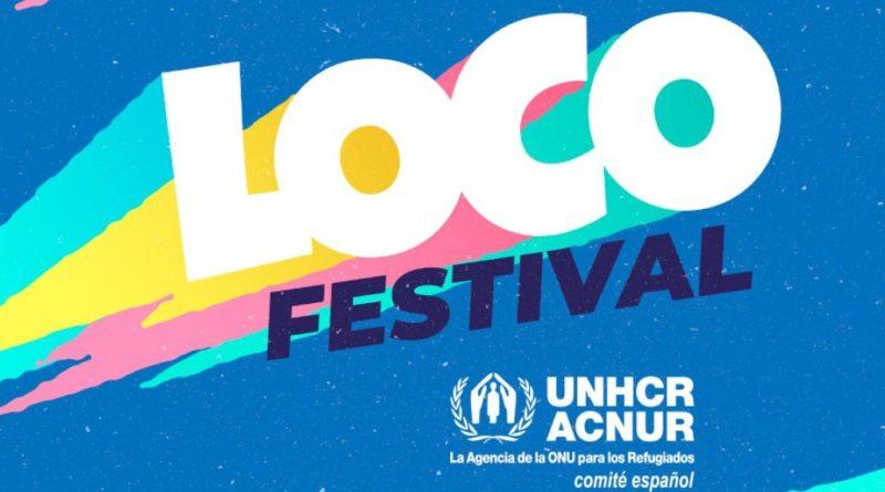 Loco festival solidario a favor de ACNUR