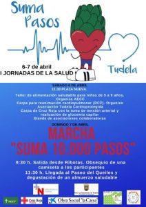 Cartel Marcha Suma Pasos Tudela 2019